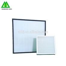 Filtro de aire del hepa del filtro de aire del hepa H13 ~ U17, filtro de aire del hepa de la sala blanca
