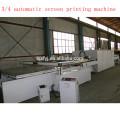 четыре поста автоматическая печатная машина экрана