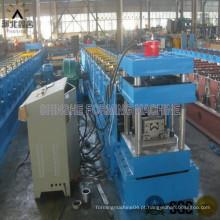 Máquina de fabricação de folhas de telhado de metais