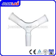 JOAN Lab Glass Y Type Adaptateur de connexion Joint mâle et femelle