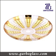 Glass Gloden Plate/ Plating Plate