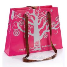 bolso de compras de papel de lujo de la Navidad 2016
