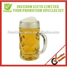 Vidro de cerveja relativo à promoção