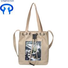 एकल-छात्र कंधे बैग के साथ कस्टम-मेड कला और कला कपड़े बैग
