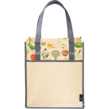 Fashion well-deisgned lamination non woven tote bag