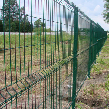 Triangle Bending Wire Mesh Railway Fence