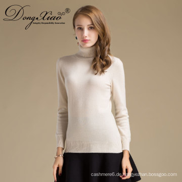 Die meist verkauften Produkte Benutzerdefinierte Plain Strickmode Pullover Wolle Kaschmir-Pullover Frauen