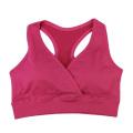 Frauen Freizeit Fitness nahtlose Double Layer Bras
