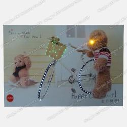 LED Greeting Cards, LED Flashing Greeting Cards