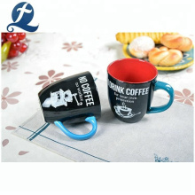 High quality custom printed coffee home water mugs ceramic