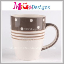 Wholesale Gift Carved Ceramic Coffee Mug
