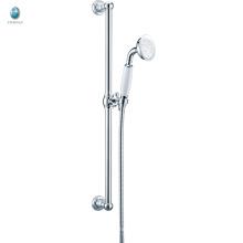 KL-08 precio económico accesorios de baño ducha de mano pequeña ajuste de barra deslizante termostática conjunto de ducha