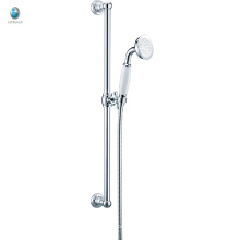 KL-08 economic price bath accessories small hand shower adjusting thermostatic sliding bar shower set