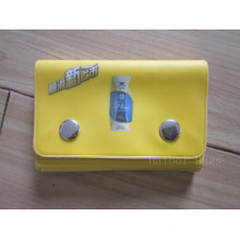 Saco de couro do cartão do PVC (hbpv-70)