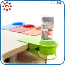 Porte-gobelet Protable Drinklip en plastique de couleur faite sur commande de Tableau