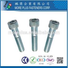 Maker in Taiwan Factory DIN912 Hex Socket Head Bolt Screw Hex Socket Cap Screw