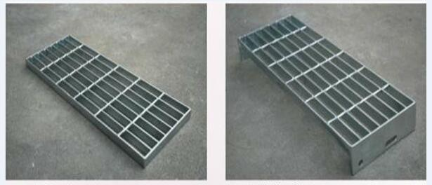 Galvanized Steel Grating Stair Treads