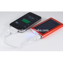 Promotional useful power bank and laptop solar charger for mobile