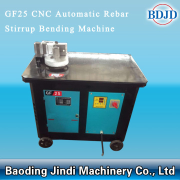 Konstruktion Begagnade CNC Rebar Stirrup Bending Machine