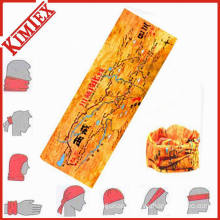 Customized Polyester Multifunctional Seamless Buff Headband Bandana