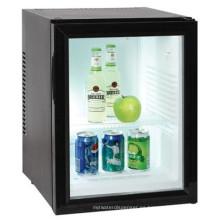 refrigerador de la tapa del refrigerador de la puerta de cristal de la exhibición de la cerveza