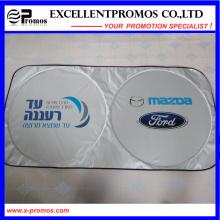 Promocional doble parabrisas de coche de poliéster círculo (EP-CS1015)