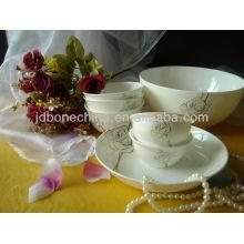 fine embossed gold tea coffee set sugar pot bone china dinnerware set