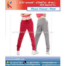 Narrow bottom fleece trouser for women fashion wear pant for ladies and girls