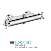2014 mezclador termostático de acero inoxidable nueva ducha en su propia fábrica