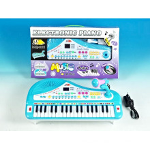 Plastic Electronic 37 Keys Organ with Microphone (10216812)
