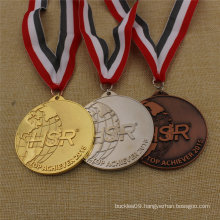 Factory Custom Award Sport Running Souvenir Medal with Custom Ribbon