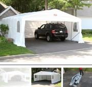 Warehouse Storage Outdoor Car Shelter Storage Carport