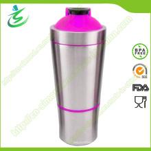 700ml Atacado Aço inoxidável Proteína Shakers