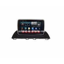 Kaier Plein écran tactile Android 7.1 Qcta core voiture Gps / voiture lecteur DVD pour Mazda 3 avec wifi BT Mirror Link