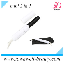 Mini Hair Curler / Straightener 2 in 1 for Travel