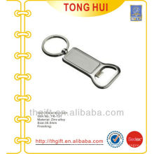Bottle opener keychains blank pendants metal
