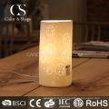 Lampe de table à motif de pissenlit de forme classique moderne tube