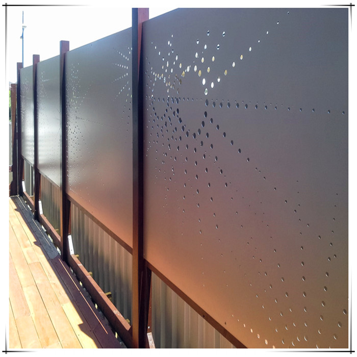 Laser Cut Modern Metal Fences