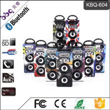 2017 Hot Selling 10W 1200mAh Portable Audio Bluetooth Wood Speaker