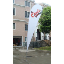 Teardrop Digital Printing Teardrop Flag with Cross Feet