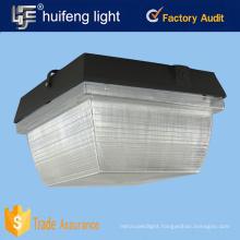 us standard 100w led canopy light gas station