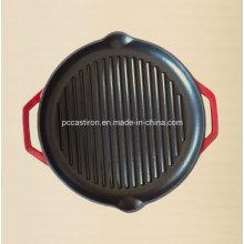 Enamel Gusseisen Griddle Pan mit LFGB Zertifikat