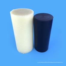 Technische Kunststoffe 100% Kunststoffe Schwarz / Weißer Nylonstab