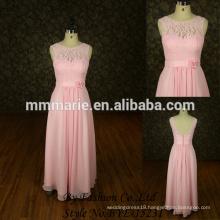 Strapless design elegant light pink evening dresses 2015 new model evening dress