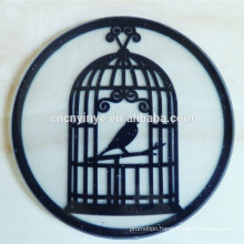 Wholesale customized embossed logo new design silicone coaster