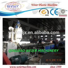 WPC PVC eco profile making extruder machine