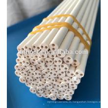 Tubos de cerámica 98.3 --- 99.9% MgO Magnesia tubos pin varilla