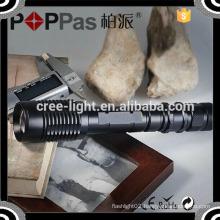 Poppas V5-858 Runtime 3hours Aluminum Rechargeable 450lm Brightness Long 18650 LED Torch Light