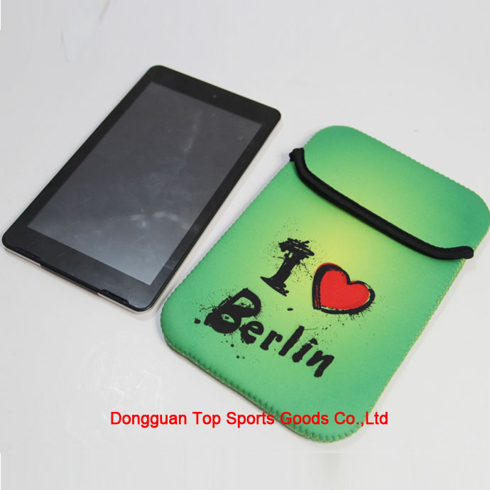 Neoprene tablet bag