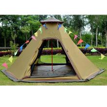 Tienda de campaña al aire libre de la supervivencia del campo impermeable de la supervivencia del campo a prueba de viento a prueba de viento